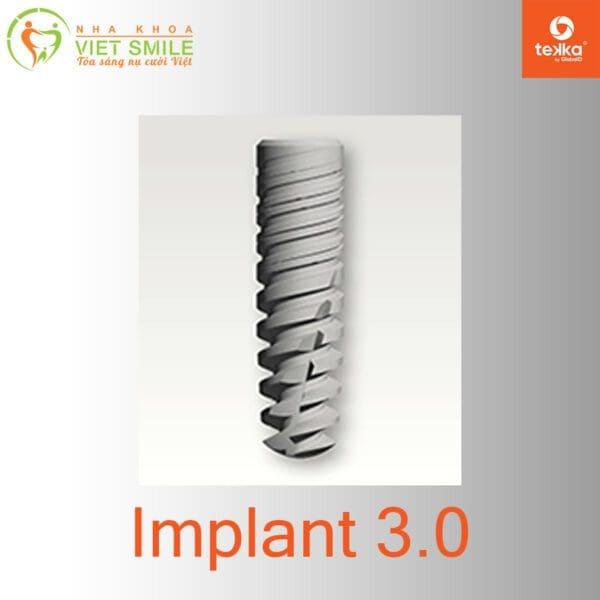 Vietsmile tekka implant 3. 0