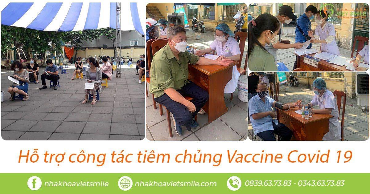 Tiêm chủng vắc xin covid